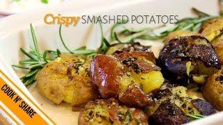 Smashed Potatoes - Crispy & Delicious