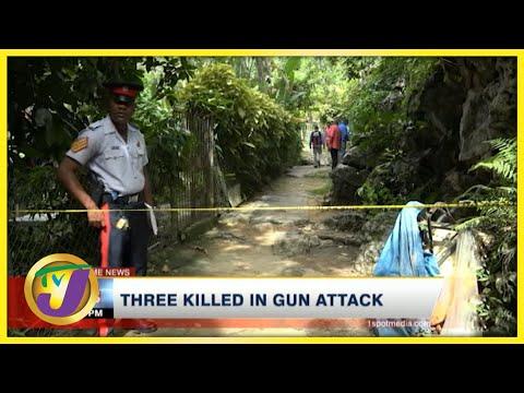 3 Killed in Gun Attack | TVJ News - August 4 2021