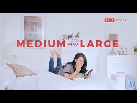 "Iklan TV Sale Stock - Coba Dulu Baru Bayar versi Medium atau Large 15"""