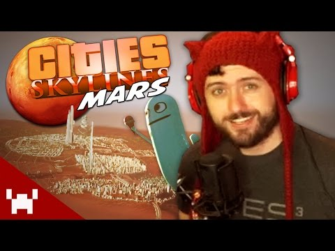 THIS IS DANGEROUS! THE LOST CITY! (Cities Skylines: Mars w/ Ze #10)