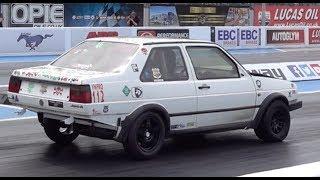 600hp 3.2l Turbo VW Jetta - 1/4 Mile 10.52 @ 139mph