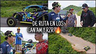 RUTA A COSALA EN LOS RZR Y CAN AM | LOS TOYS