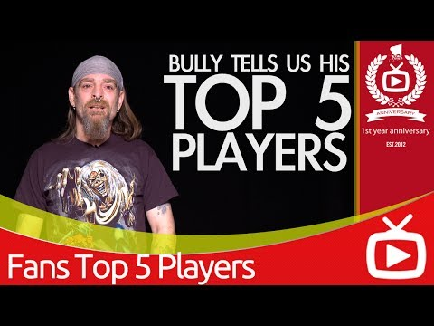 Arsenal Top 5 Favourite Players - Bully's Selection - ArsenalFanTV.com