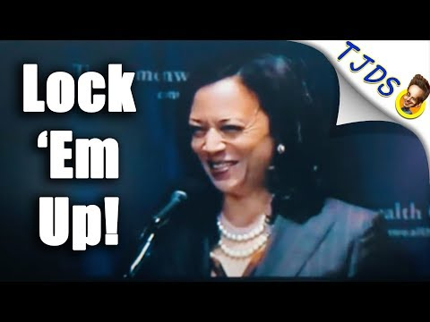 Kamala Harris Giggles About Prosecuting Poor People For Truancy