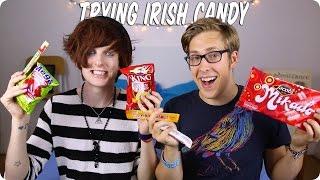 TRYING IRISH CANDY | Evan Edinger & Bry