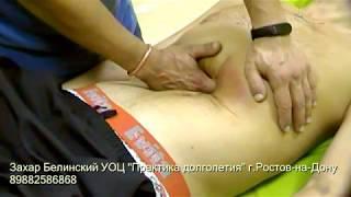 Схема массажа живота. Обучающий ролик