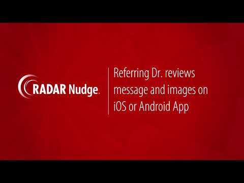 RADAR Nudge: Capture and Share PACS Image