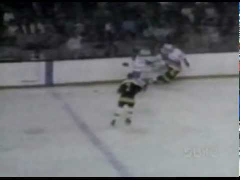 pat quinn elbows Bobby Orr don cherry intro