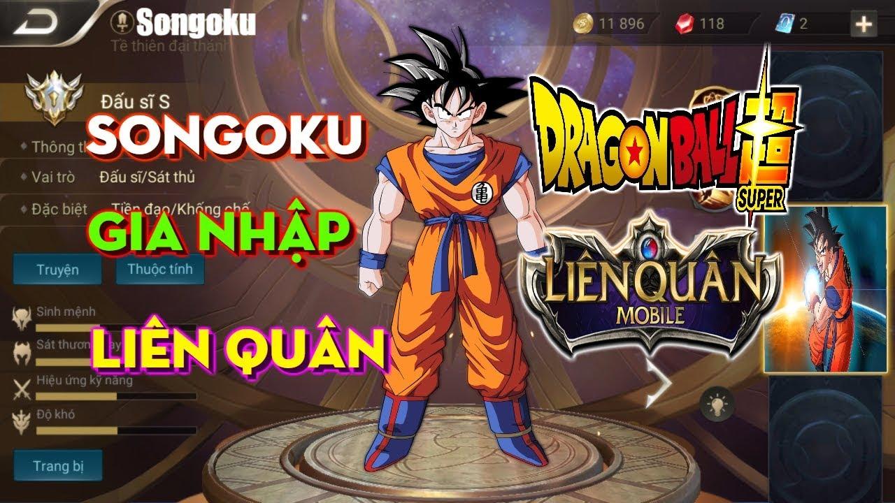 Songoku Liên Quân Là Có Thật? 5 Tướng Dragon Ball Trong Liên Quân Mobile | VietClub Gaming