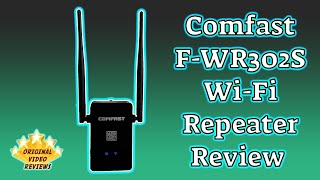 COMFAST CF-WR302S Wireless Repeater Review
