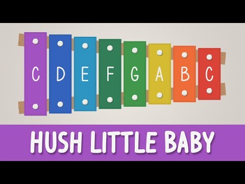 How to play Hush Little Baby on a Xylophone - Easy Songs - Tutorial - YOUCANPLAYIT.COM