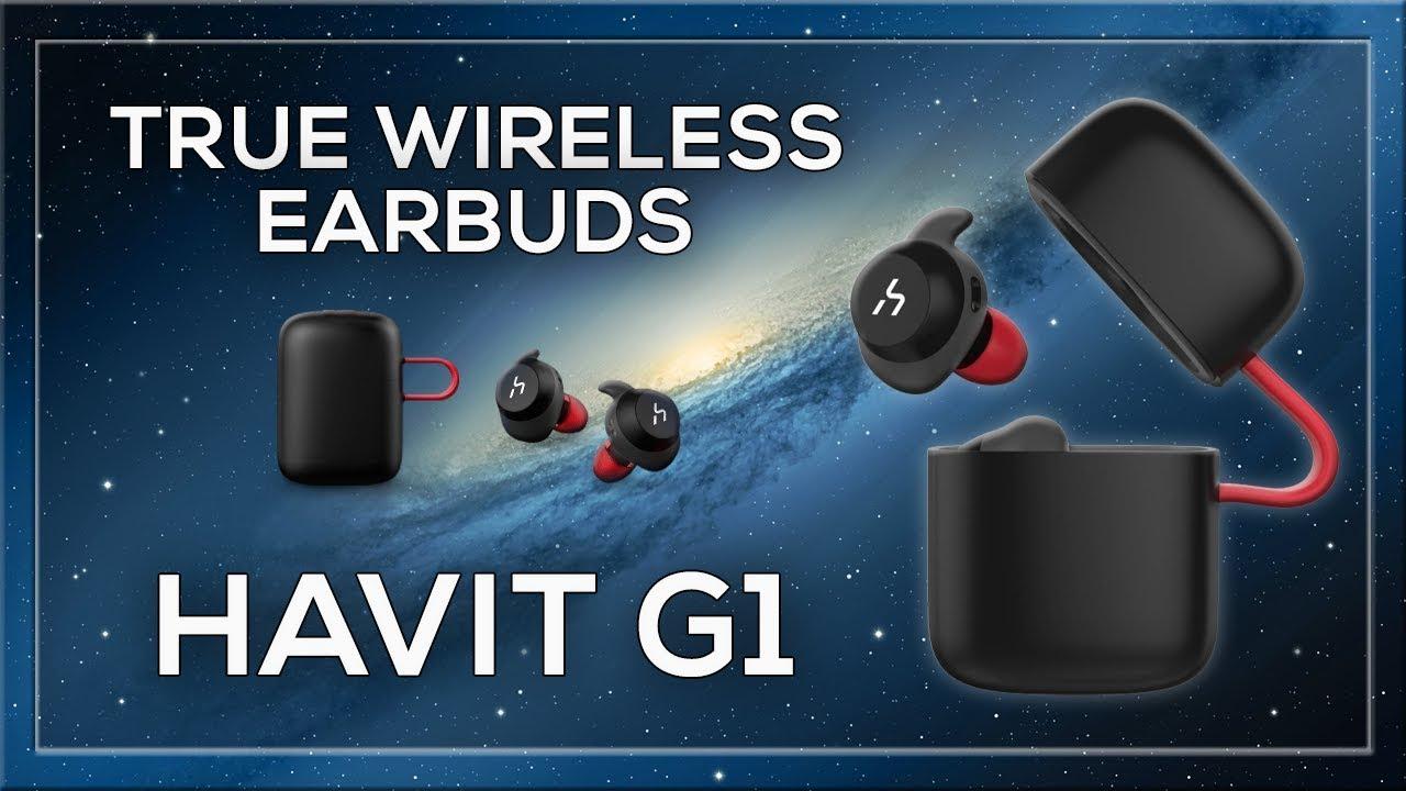 13fb1068628 HAVIT G1 Series TWS True Wireless Earbuds, Wireless Charging, IPX6  Waterproof, Bluetooth 5.0 - HAVIT Online