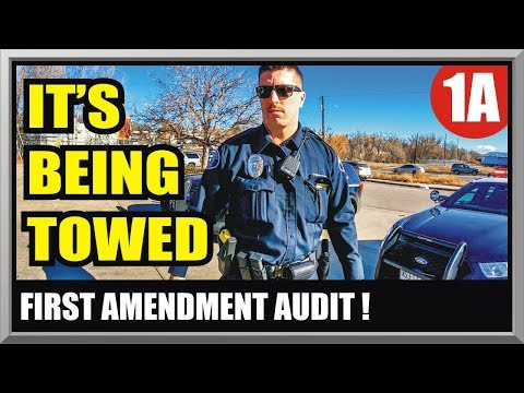 OFFICER DISCRETION *FAIL* - LAKEWOOD COLORADO POLICE DEPT - First Amendment Audit - Amagansett Press