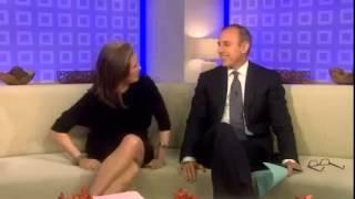 Курьезы на телевидении  Раздвинула ног