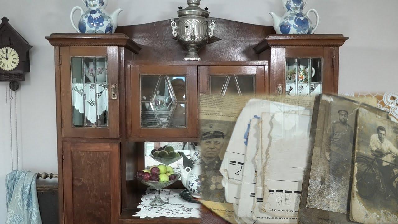 Старинный буфет хранит семейные тайны - Стихи про старинный буфет