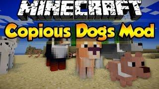 minecraft обзоры модов-мод на собак!!! (Copious Dogs)