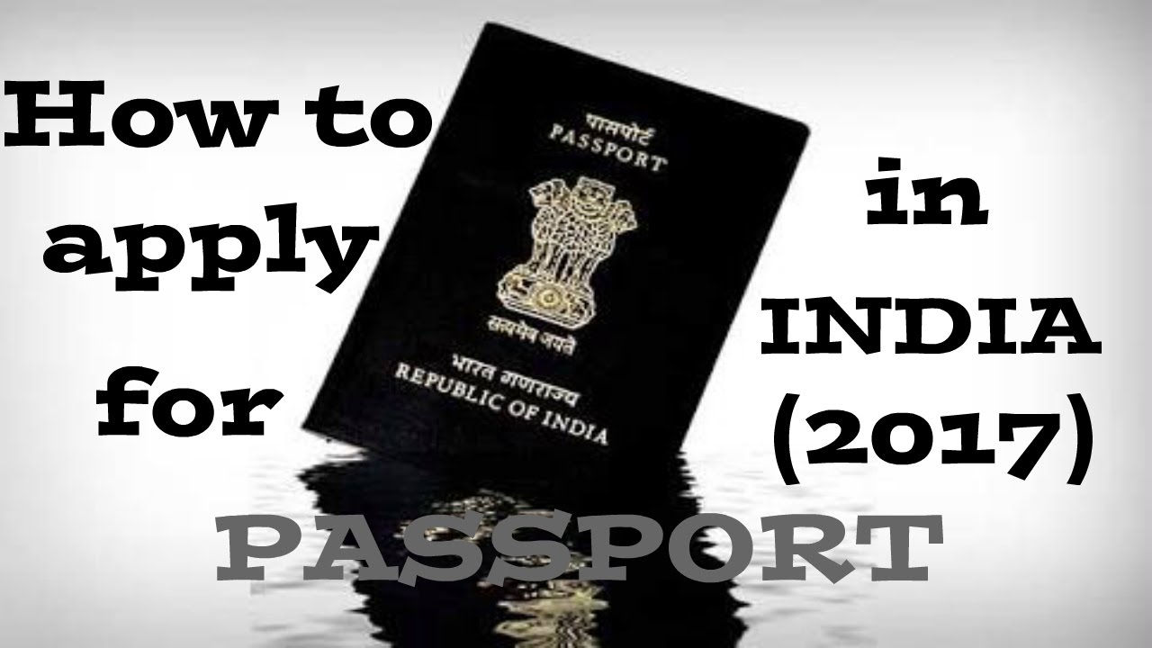 How To Apply For Passport In India  Hindi  Latest 2017