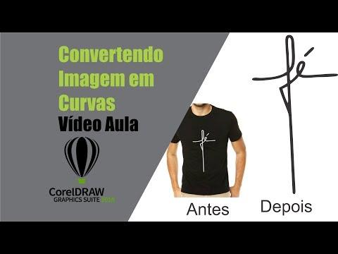 Dica: Convertendo Imagem em curvas Super rápido no CorelDraw