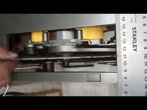 Stanley FME301 Люфт диска