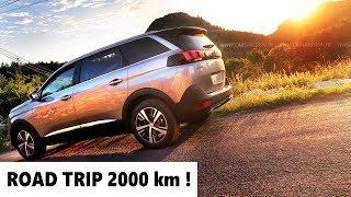 Peugeot 5008 GT line 165 THP 7 Places, INVITATION AU VOYAGE (Essai Fr)