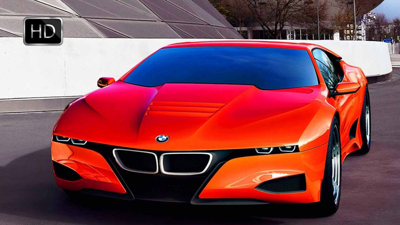 Video Bmw M1 Hommage Supercar Concept Design Hd Youtube