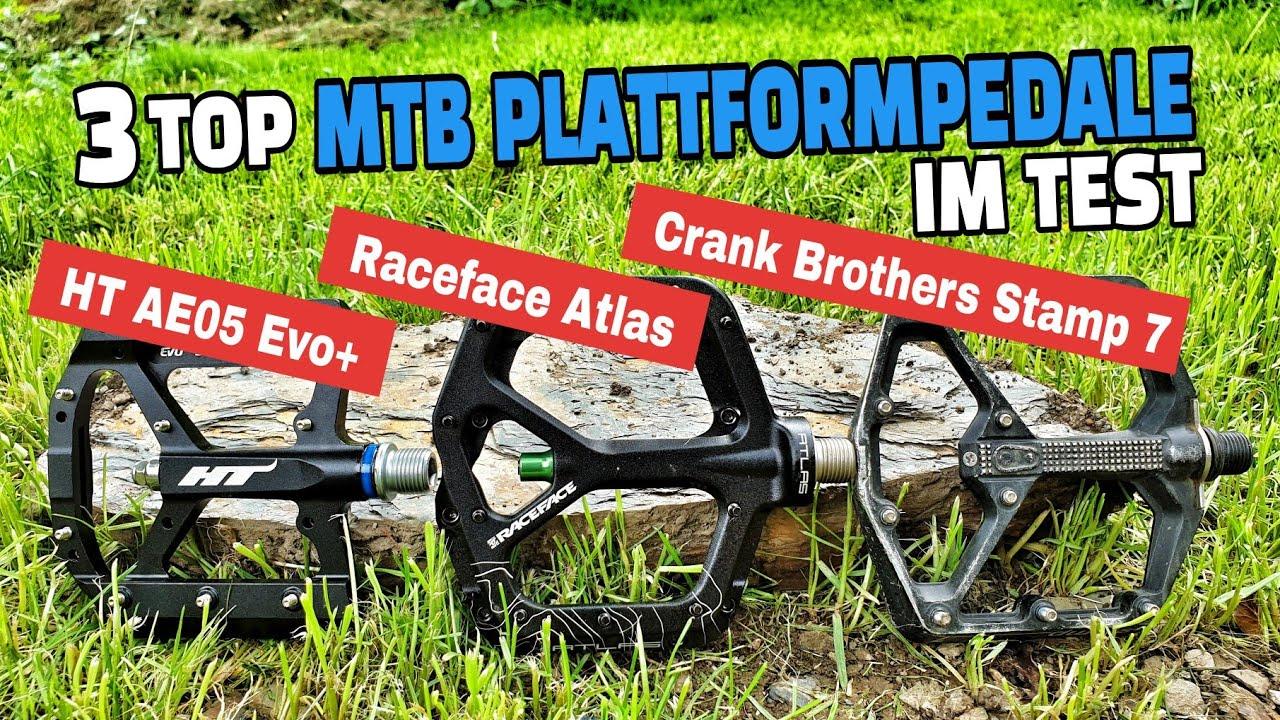3 TOP MTB Plattformpedale im Test (Standsicherheit / Grip) | Emser Bikepark 2020 | Leo Kast