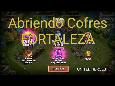 Abriendo Cofres FORTALEZA Castillo Furioso UNITED.HEROES