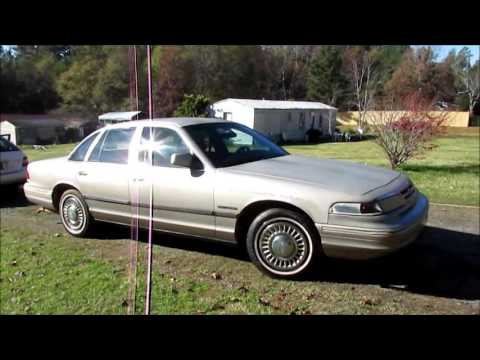 My New 1995 Ford Crown Victoria