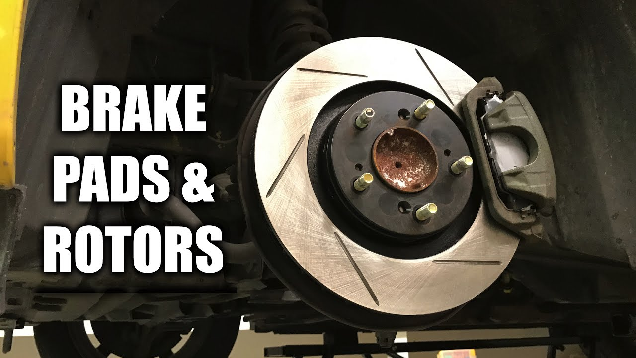 Brake Pads And Rotors Prices >> How To Replace Brake Pads And Rotors Front Rear