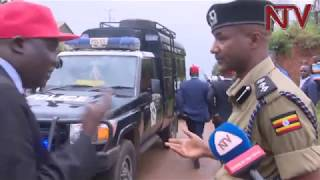 Poliisi ekutte omubaka Kyagulanyi
