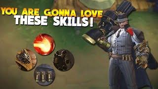 New Hero Roger REAL Skills/Abilities (Mobile Legends Update)
