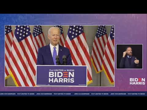 Joe Biden Speech on The Supreme Court & Justice Ruth Bader Ginsburg LIVE