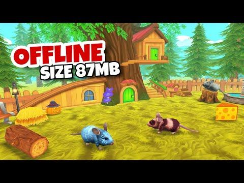 Merasakan Kehidupan Sebagai Tikus - Mouse Simulator - Wild Life Sim   Android GAMEPLAY