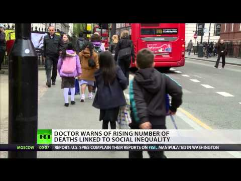 'Social inequality, not lifestyle, causes early deaths in UK''