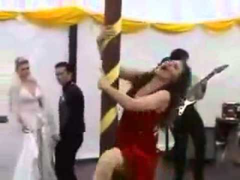 Drunken Pole Dancer Ruins A We is listed (or ranked) 1 on the list The 20 Most Epic Wedding FAILs of All Time