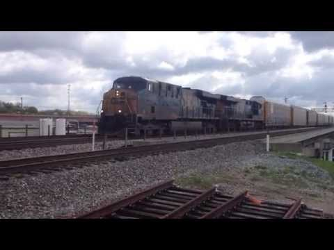 CSX autohaulers at Spring Grove, ( Winton Place ), Cincinnati Ohio HS