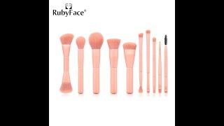 Деревянные кисти для макияжа набор косметических кистей основы пудры румян и теней кисть макияжа