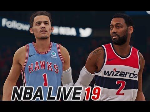 NBA LIVE 19   Washington Wizards Vs Atlanta Hawks   Its LIT