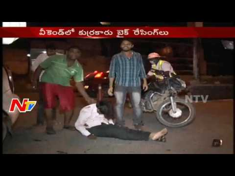 Bike Racers Hulchul In Hyderabad || 19 Bikes And 1 Car Seized || NTV