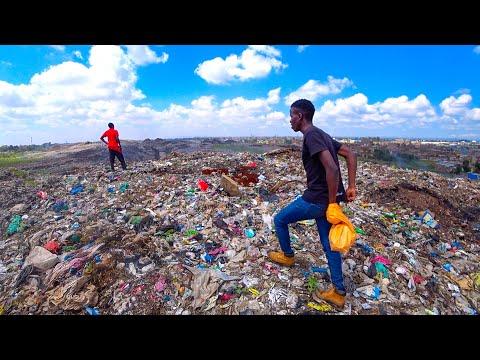 Climbing the Biggest Landfill in Africa 🇰🇪 Kenya Nairobi