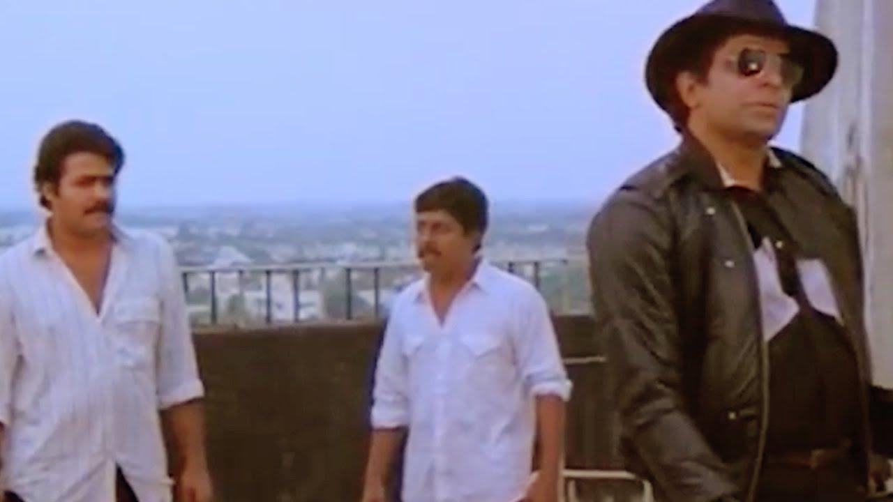 ദാസാ ഏതാടാ ഈ അലവലാതി I AM പവനായി | Mohanlal & Sreenivasan Comedy Scene | Nadodikkattu | Captain