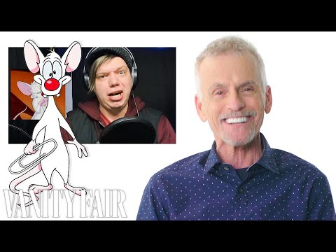 Rob Paulsen (Pinky and the Brain) Reviews Impressions of His Voices   Vanity Fair