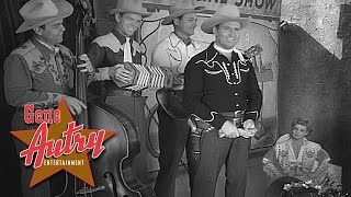 Gene Autry & the Cass County Boys - Back in the Saddle Again (from Wagon Team 1952)