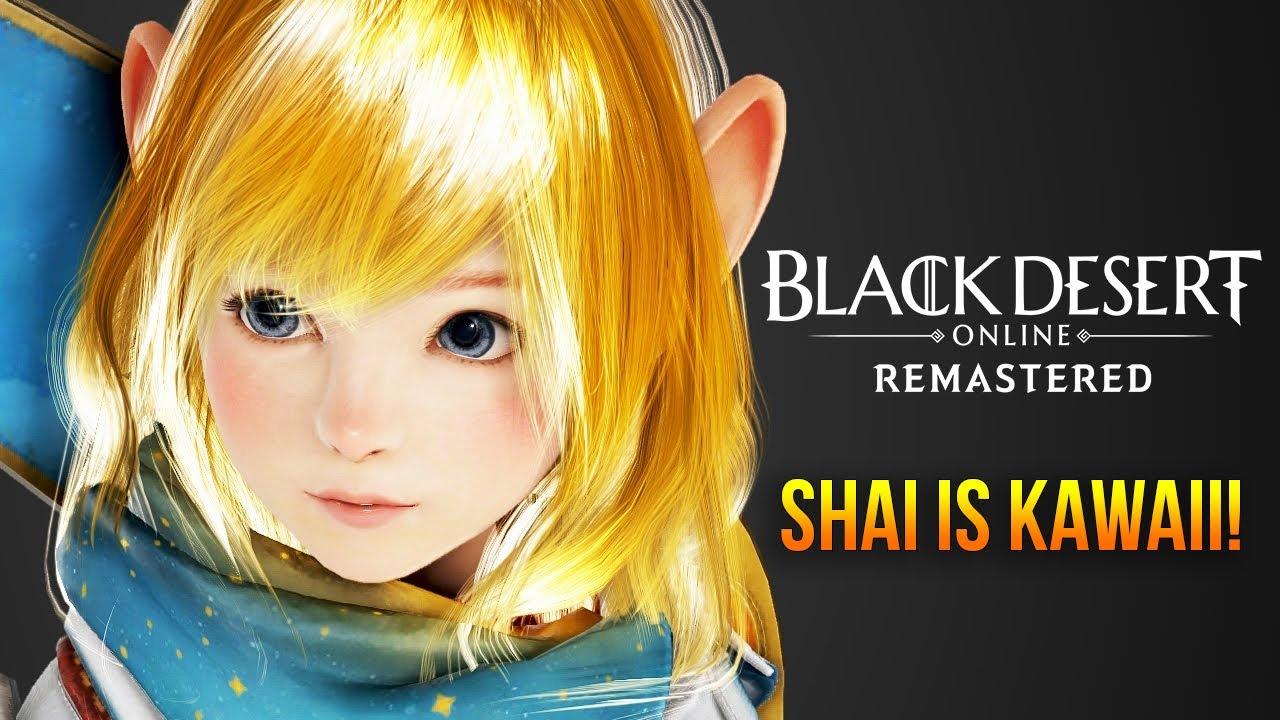 Black Desert Online: Shai First Impressions | New Kawaii Support Class