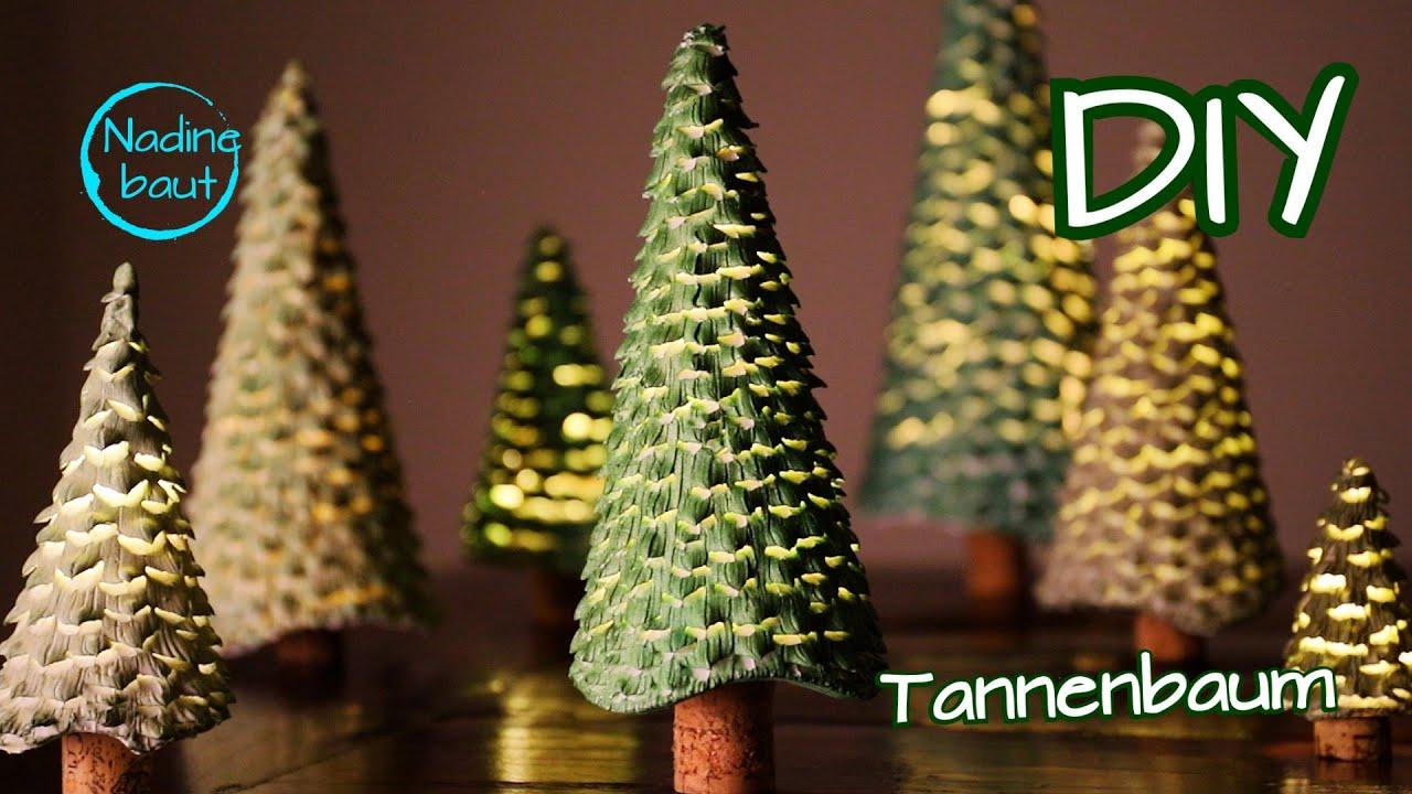 Weihnachtsdeko Selber Machen Tannenbaum Basteln Diy Weihnachtsbaum