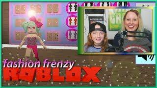 Eu sou a tia mais legal sempre ✨ Roblox Fashion Frenzy com Little E, SallyGreenGamer, Geegee92, jogos de criança