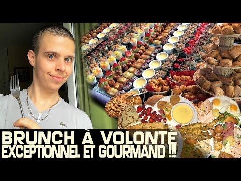BRUNCH à VOLONTÉ EXCEPTIONNEL et GOURMAND !!!