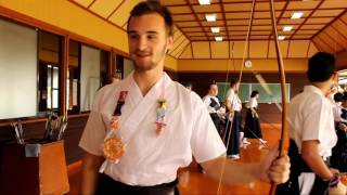 Kyudo with World Campus - Japan