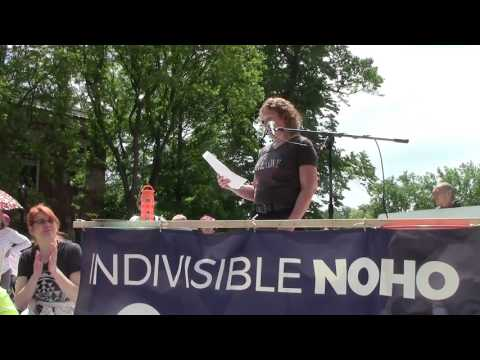 March and Rally for Truth: Northampton, MA June 3, 2017