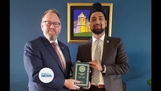 Interfaith meeting held with UK Ambassador to Paraguay